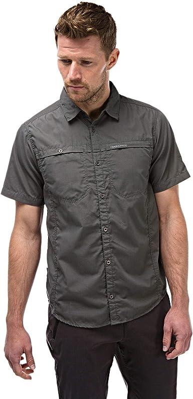 Colors Craghoppers Men/'s Kiwi Short Sleeved Shirt Assorted Sizes