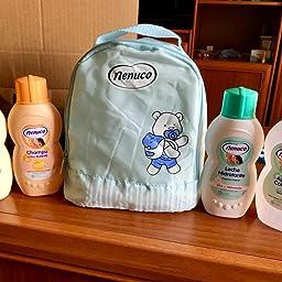 Nenuco Pack Bebé Mochila de Paseo color azul, contiene colonia, jabón, champú y leche hidratante, 4 x 200 ml: Amazon.es: Belleza