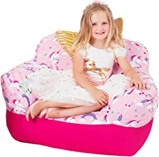 Yayme! Preschool Toddler Kids Beanbag Chair Cover | Our Bean Bags for Boys and Girls is Comfy and Shaped Like an Armchair | This Cute Design Will Make Every Little Child's Room Fun