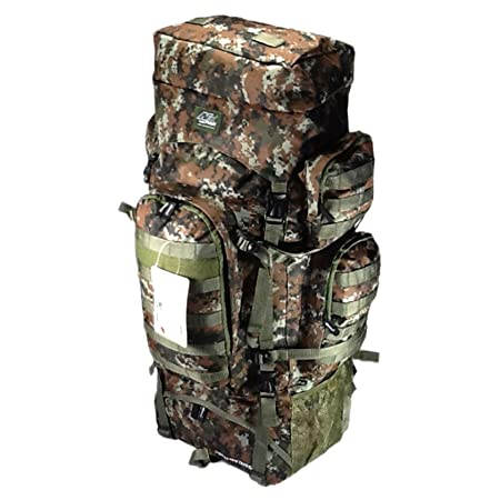 34 5200 cu. in. Tactical Hunting Camping Hiking Backpack THB001 DM BROWN DIGITAL CAMOUFLAGE