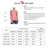 BALEAF Women's UPF 50+ Sun Protection T-Shirt Long