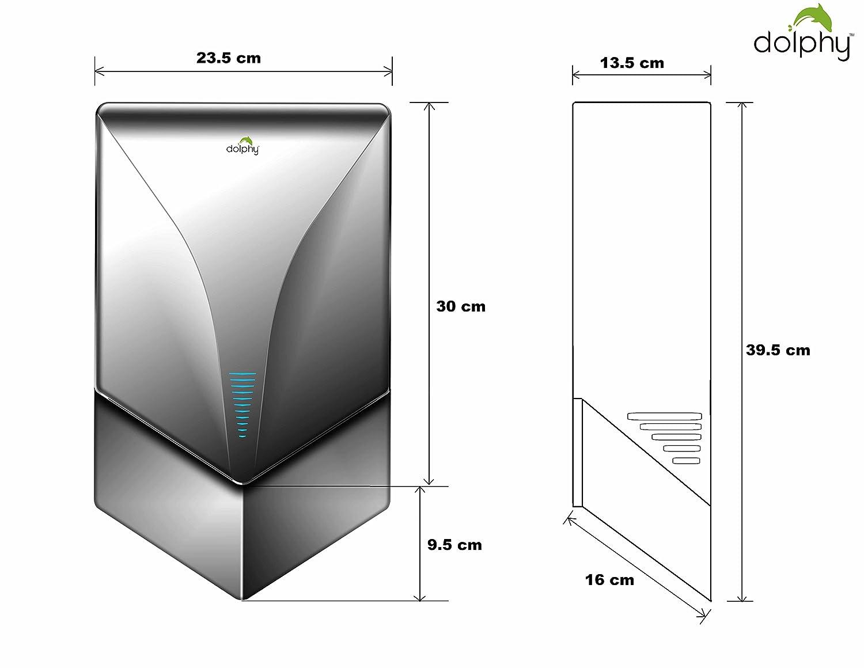 Dolphy Automatic Airblade Jet Hand Dryer Black Home Xlerator 277 Volt Wiring Diagram Improvement