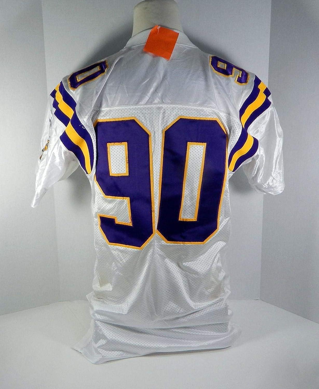 buy popular 1e75a 44af5 1998 Minnesota Vikings Derrick Alexander #90 Game Issued ...