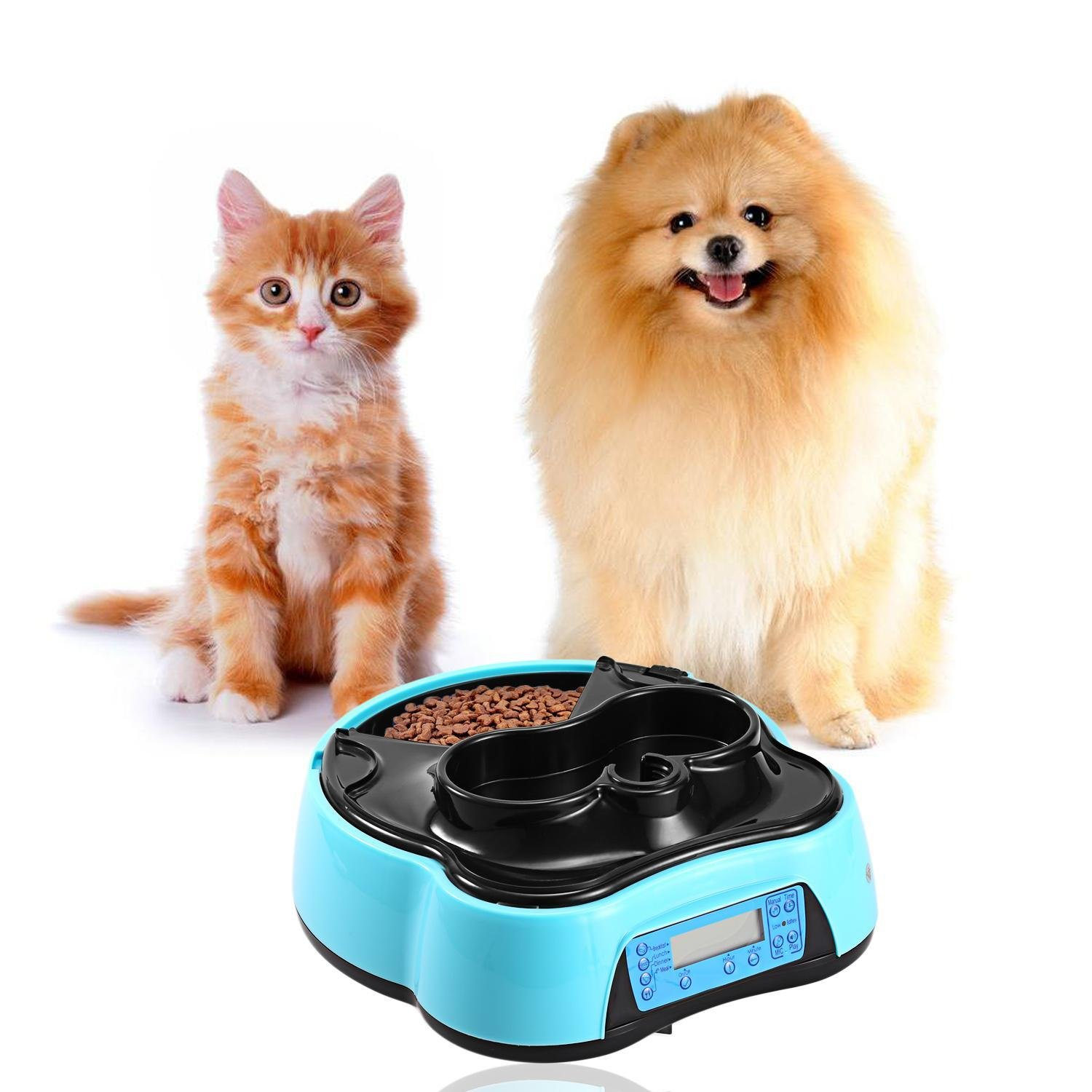 Amazon.com : Cosway 2017 Automatic Pet Feeder for Dog&Cat ...