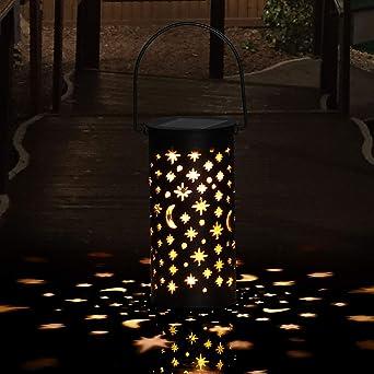 Lámparas Solares para Jardín Golwof 1 Pieza Luz Solar Exterior Jardin Luces Solares Jardin Exterior Decorativas Farolillos Solares Exterior Iluminación de Caminos para Camino Patio Césped Pasillo: Amazon.es: Iluminación