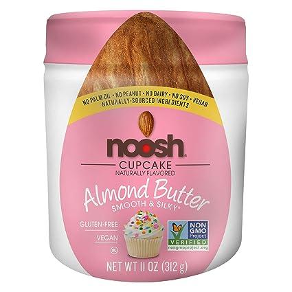 NOOSH paquete de magdalenas de mantequilla de almendra (11 ...