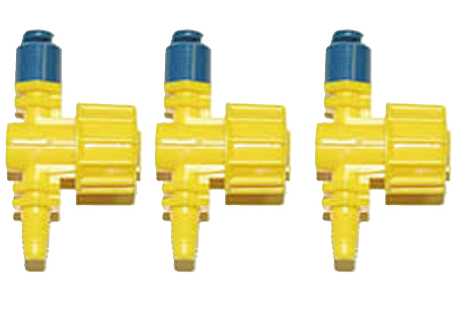 3 X ADJUSTABLE SPRINKLERS ,HALF CIRCLE SPRAY PATTERN(compatible with hozelock 2794) Antelco