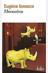 Rhinoceros (Folio) (French Edition) Mass Market Paperback