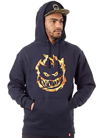 c055bc2f1ad2 Amazon.com  Spitfire 451 Hoodie Navy Size Small  Sports   Outdoors