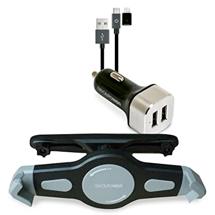 Ultron Tablet Car Set Auto Negro, Plata - Cargador (Auto, CC, 1,8 ...