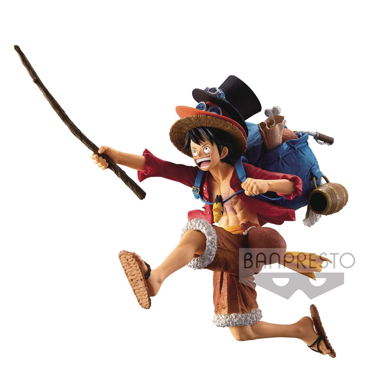 Banpresto One Piece Monkey D Luffy Statue Figurine