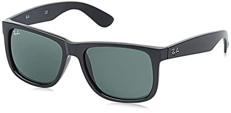 41ffce1dc64d4 Image Unavailable. Image not available for. Colour  Ray-Ban Men s Justin  Rectangular Sunglasses ...