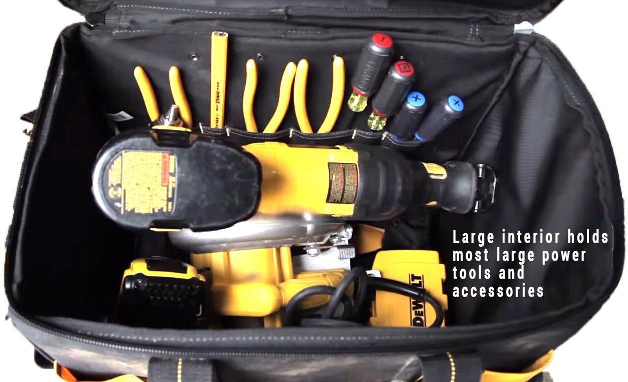 DEWALT DGL571 Lighted Roller Tool Bag, 18 in. by DEWALT (Image #3)