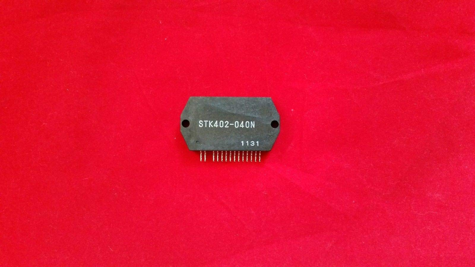 1PC STK402-040N Integrated Circuit + Heat Sink Compound
