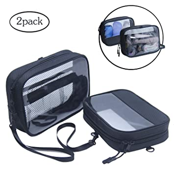 9a6f429f04 Amazon.com   Clear Travel Toiletry Bag