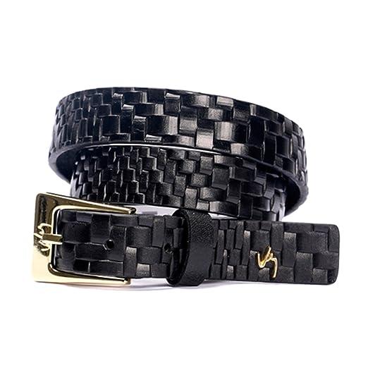 Velez Women Genuine Colombian Full Grain Leather Casual Belt Removable Buckle Dress Belt | Correa y