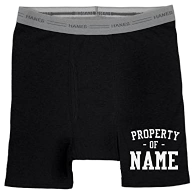 0d470afbb39e Custom Property of Gifts for Him: Hanes Black Boxer Brief Underwear at  Amazon Men's Clothing store: