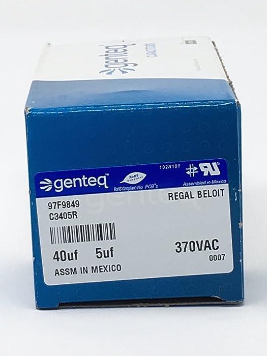 Top 10 Ge Capacitor 97F9849 405Uf