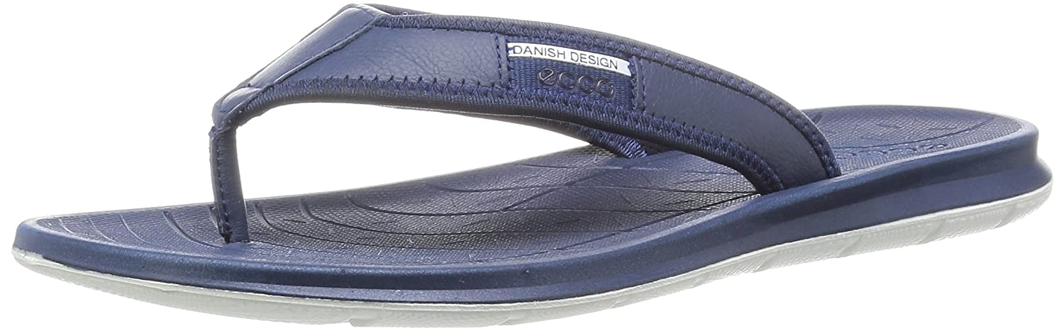 ff973daf0dda ECCO Intrinsic Toffel Thong Sandal True Navy 44 M EU   10-10.5 D(M) US  Buy  Online at Low Prices in India - Amazon.in