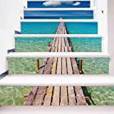 3D Stairs Wallpaper Stickers