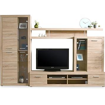 LOWYA (ロウヤ) テレビ台 壁面収納テレビ台 北欧デザイン 大容量収納付き