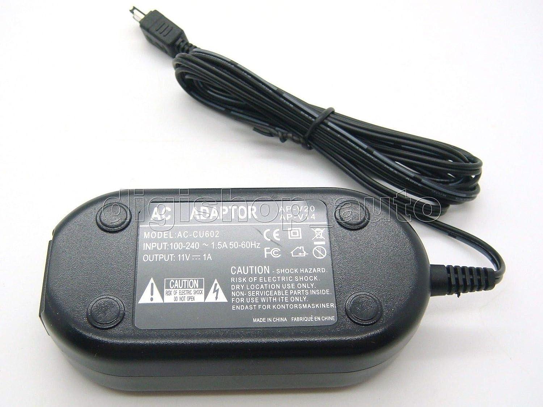 FidgetFidget AC Adapter Power Supply for AP-V14 JVC GY-HM100U GY-HM150U GY-HMZ1U GR-AX970US