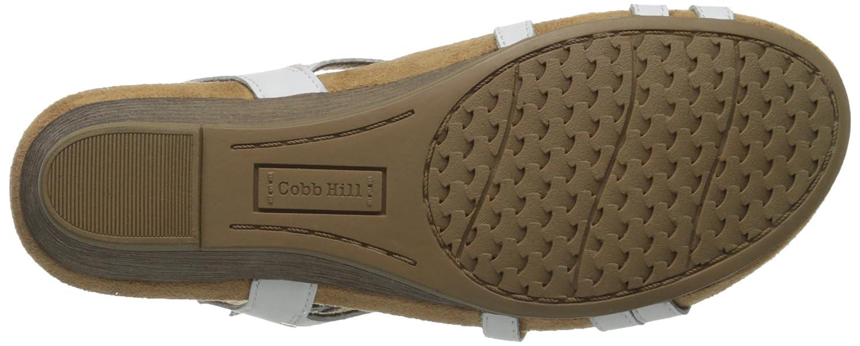 Cobb Hill Women's Hannah CH Wedge Sandal B00M1REDB2 8.5 B(M) US|White