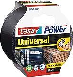 tesa 56348-00001-05 Cinta americana Extra Power UNIVERSAL x negra, 10m:50mm