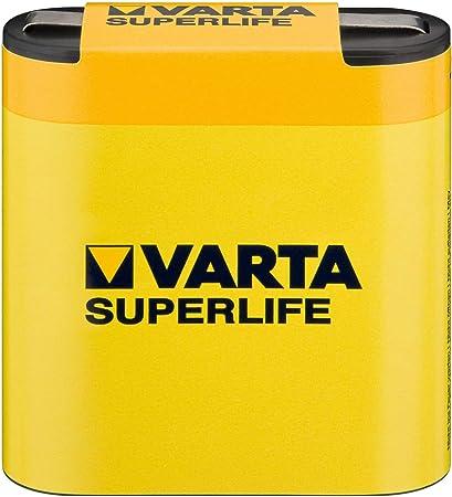 Varta Superlife Battery Yellow Elektronik