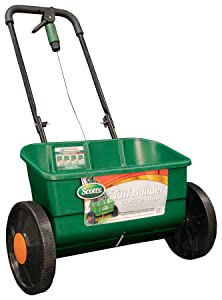 Scotts Turf Builder Classic Drop Spreader, (Up to 10,000-sq ft)