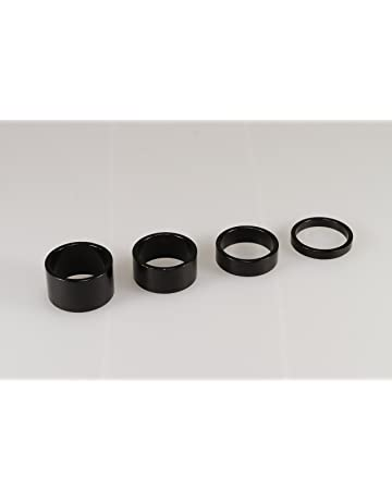 3a772177cac 4PCS New Quality Alloy Black Headset Spacers 1 1/8