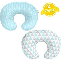 "Nursing Pillow Cover""Blue Arrows"" Collection by BaeBae Goods"