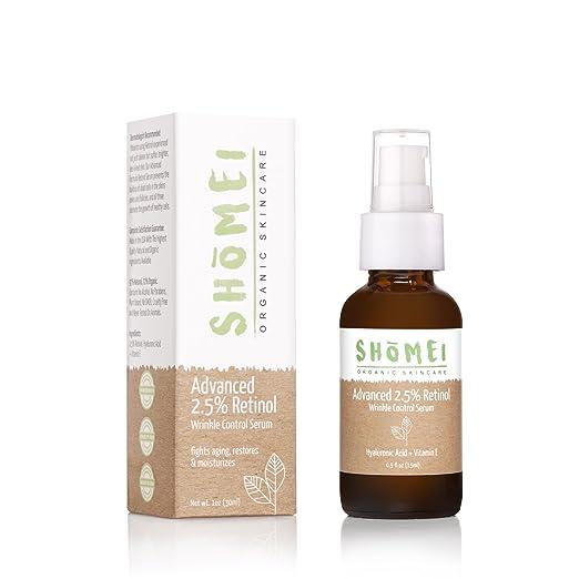 Shomei Organic Skincare Best Organic Retinol Serum