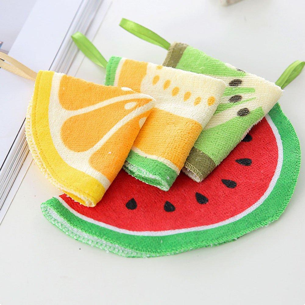 LAAT Toallas de mano para niños Toallas en forma de fruta Toalla de mano suave Toalla de algodón: Amazon.es: Bebé