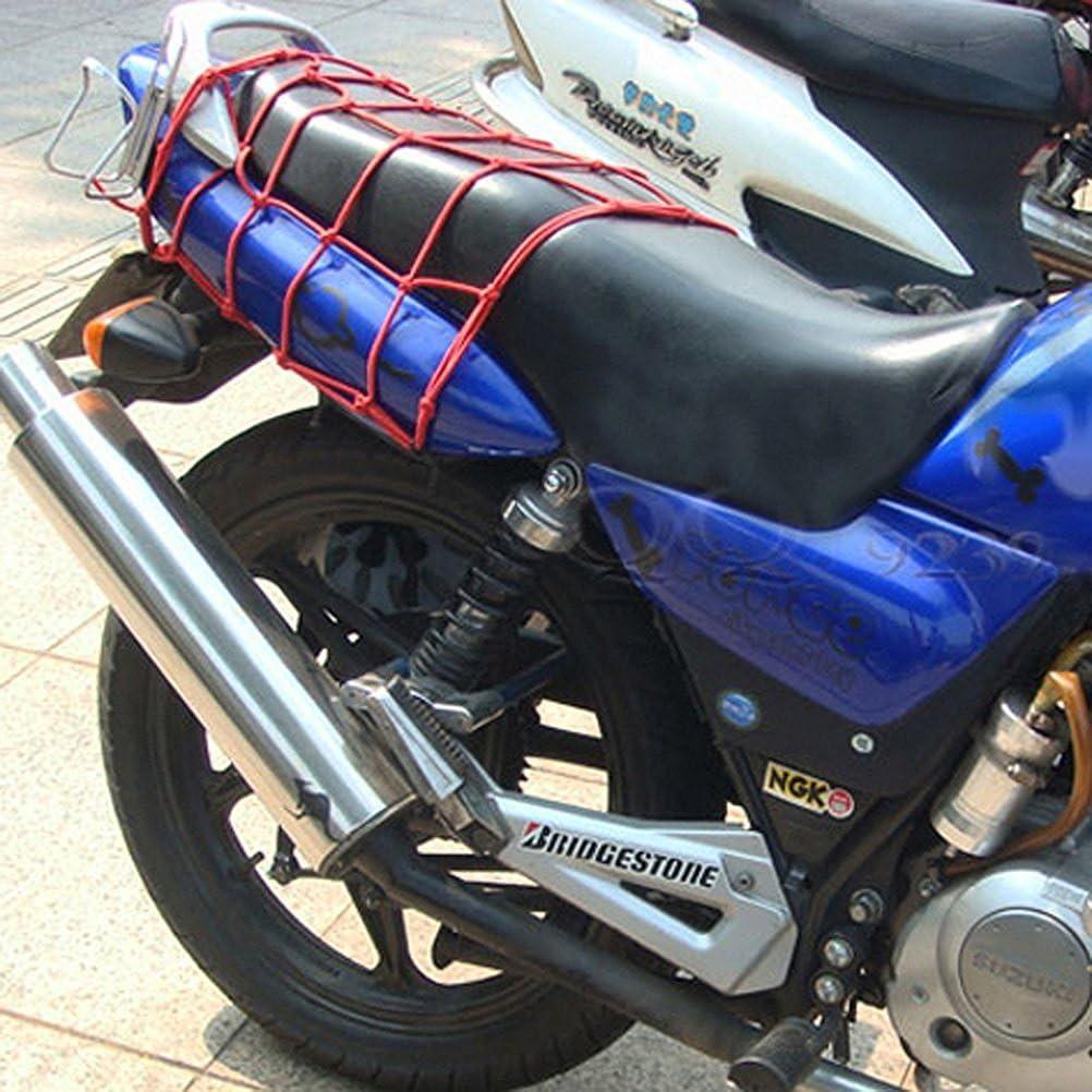MA-on Casco para Bicicleta de Equipaje Carga Bungee Net Bolsa de ...