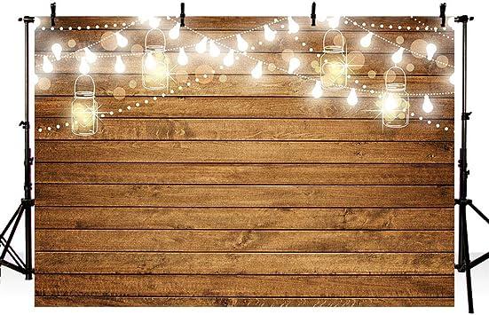 Amazon.com: MEHOFOTO - Fondo de madera para fotografía de ...