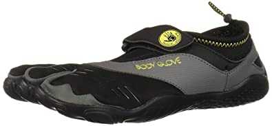 44d7121997d Body Glove 3T Barefoot Max Black Yellow Mens Water Sports Size 10M