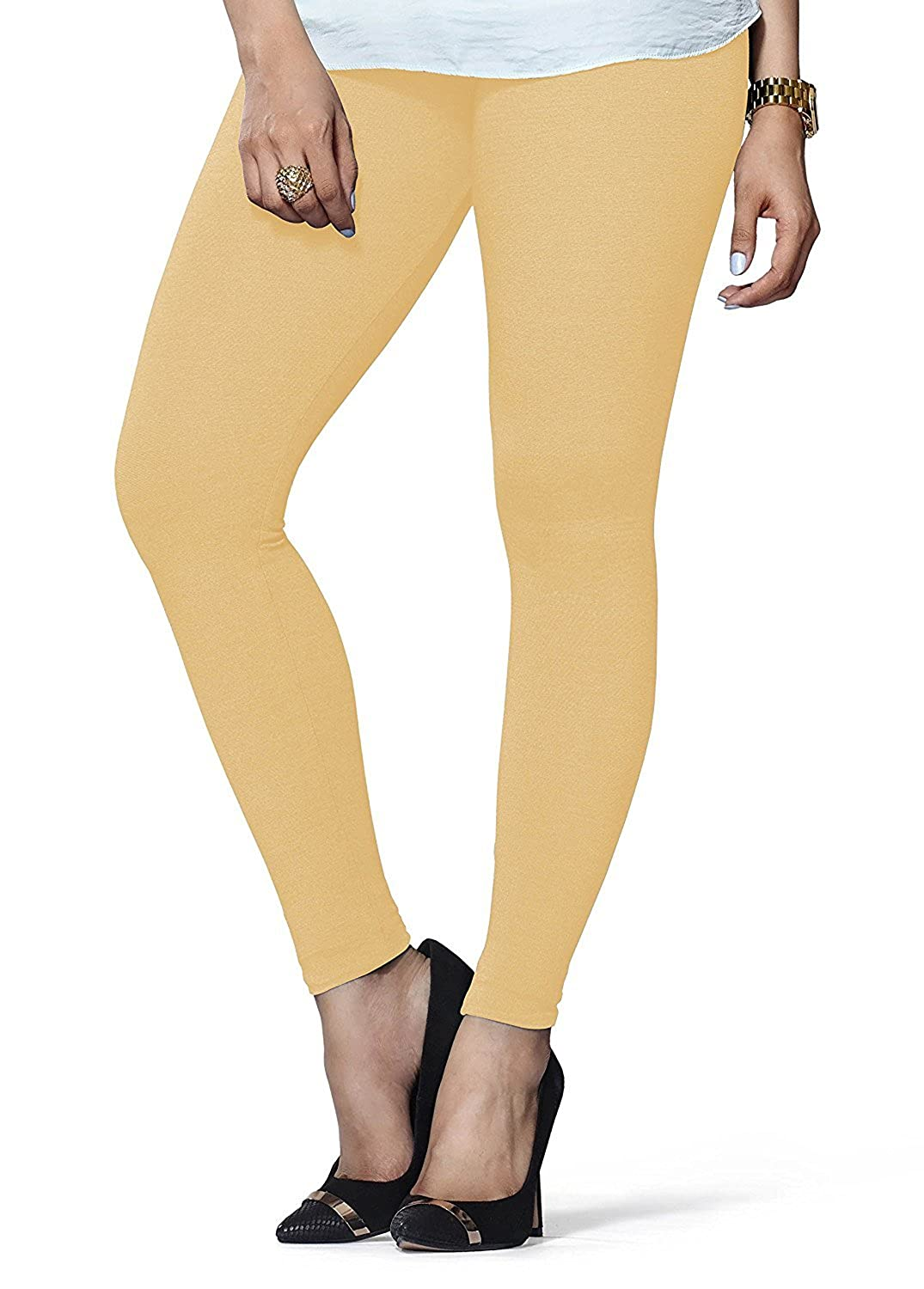 LUX LYRA Women's Cotton Churidaar and Ankle Length Leggings