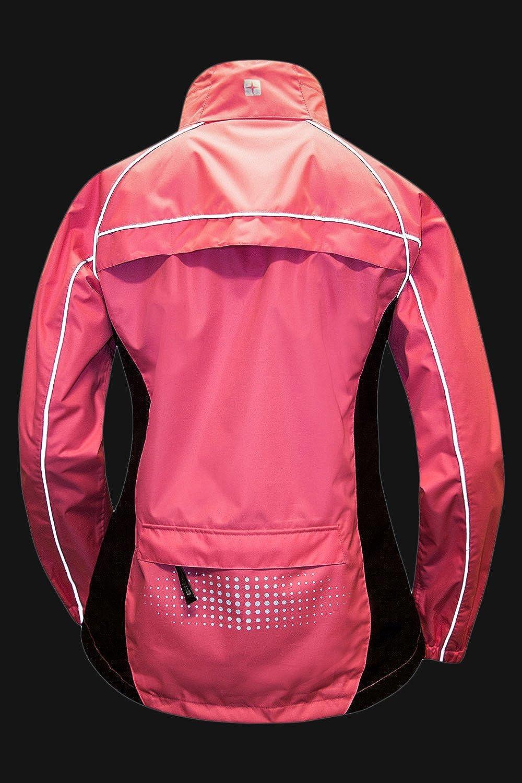 High Viz Spring Coat Running Mountain Warehouse Adrenaline Womens Jacket Breathable Ladies Jacket for Cycling Travelling Taped Seams Waterproof Raincoat