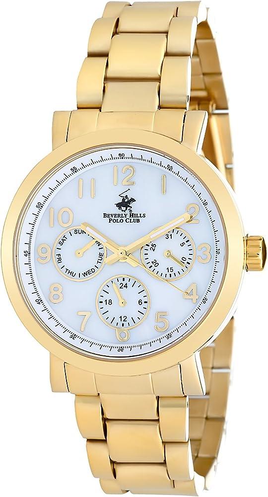 Beverly Hills Polo Club Chrongraph reloj de pulsera para mujer con ...