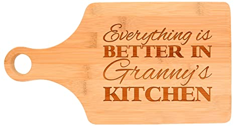 Amazon.com: Everything Is Better in Granny\'s Kitchen Décor Grandma ...