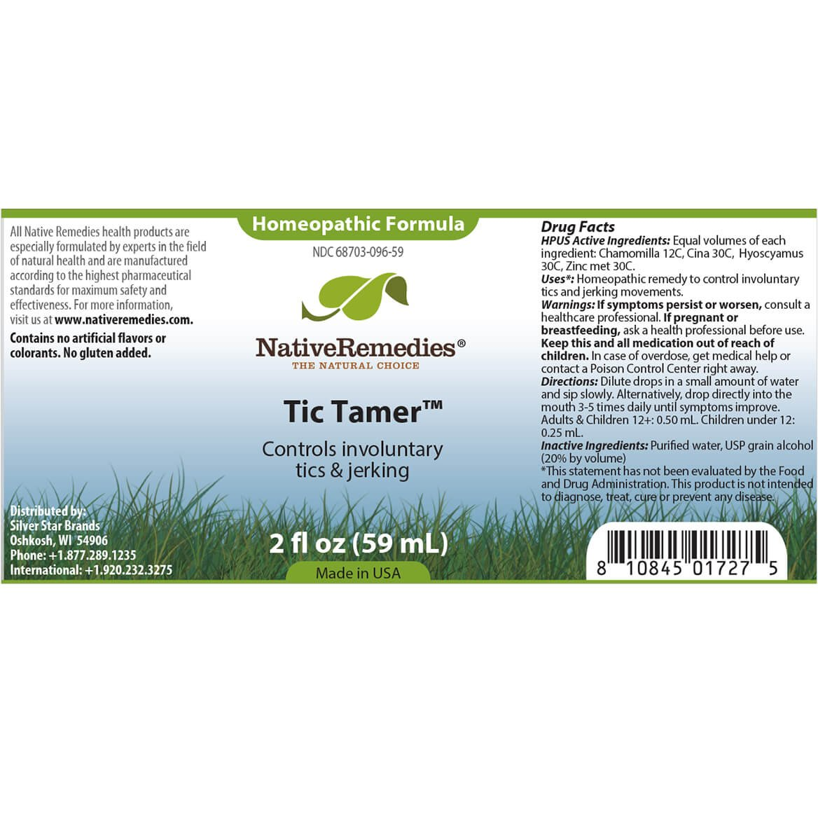 352224 Native Remedies® Tic Calm ComboPack by Native Remedies
