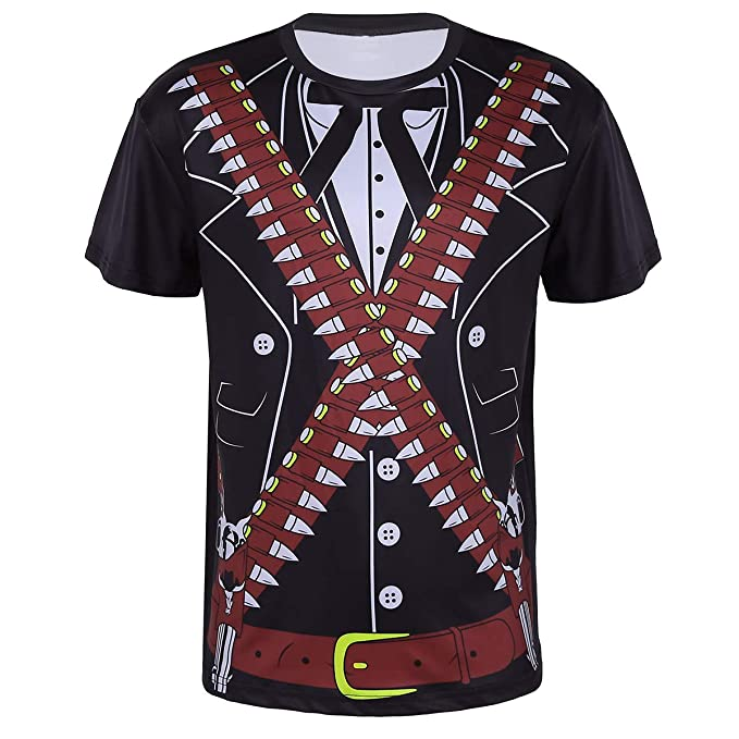 8adddaa40919 YiZYiF Herren 3D-Druck Muster Smoking Sakko Anzug Design Kurzarm Langarm  T-Shirt