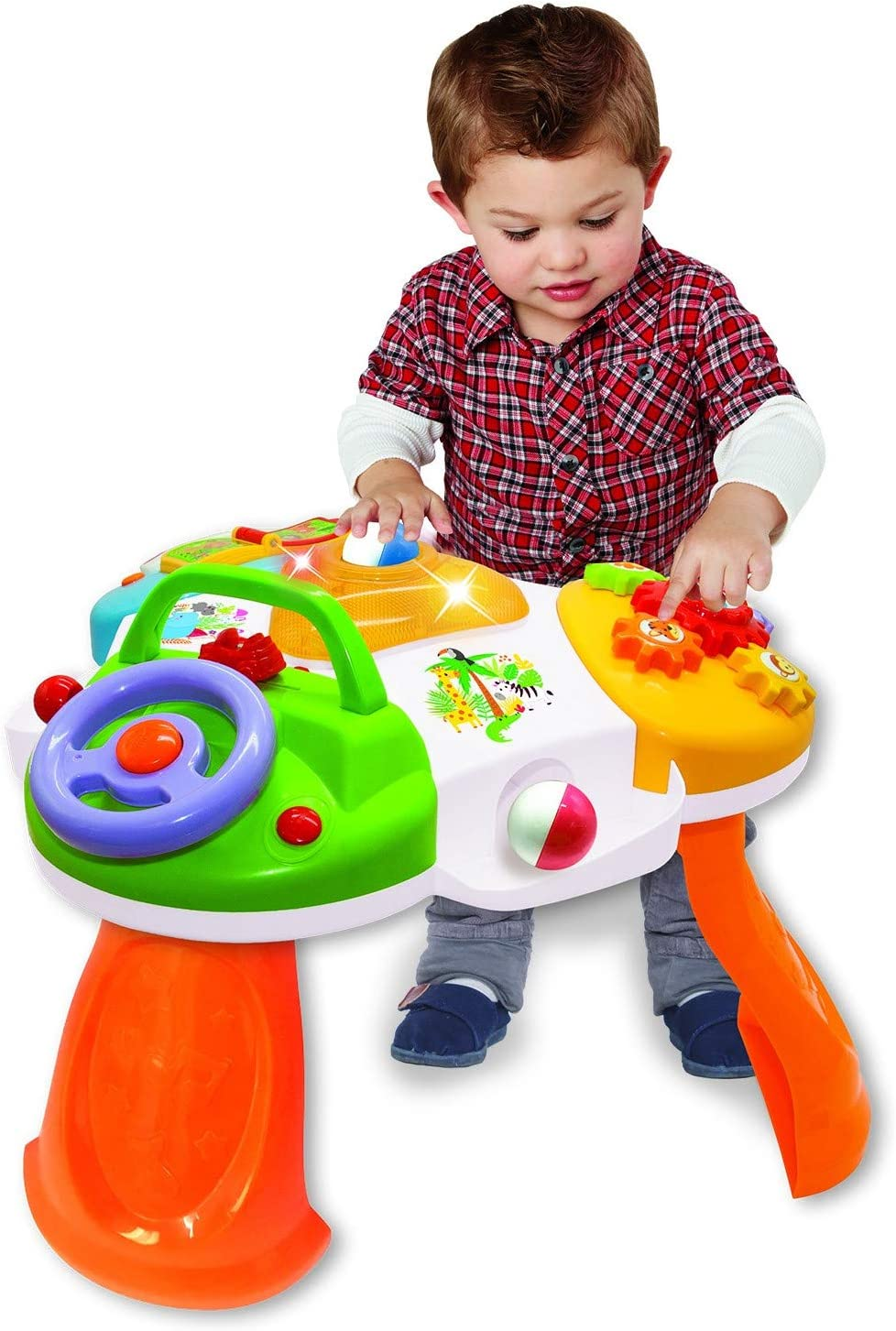 Kiddieland Delight and Discover Activity Table