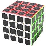 Zauberwürfel 4x4x4 Coolzon® Speed Cube Würfel Carbon Faser Aufkleber Neue Geschwindigkeits Super Schnell und Glatt
