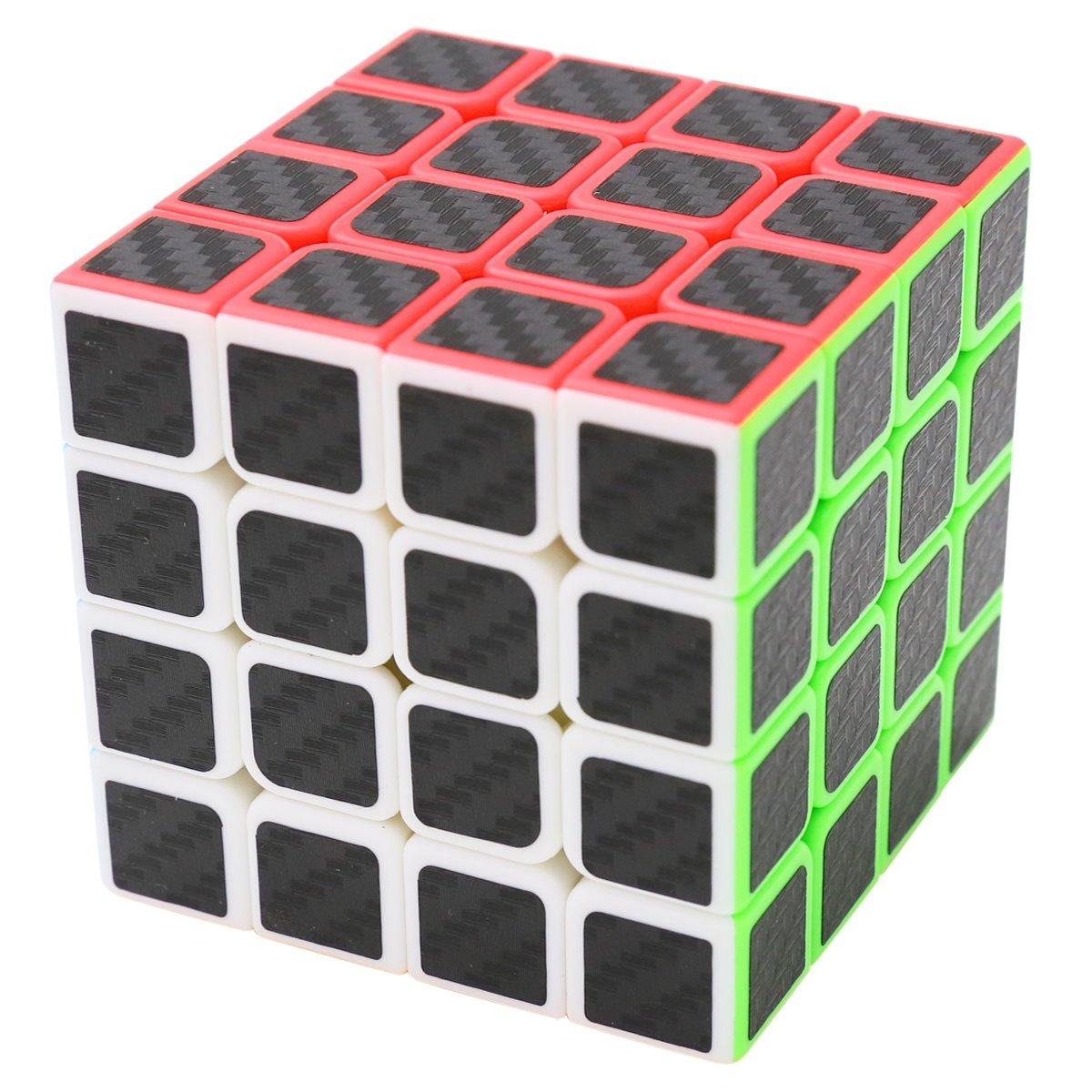 Zauberwürfel 2x2x2 Coolzon® Speed Cube Würfel Carbon Faser Aufkleber Neue Geschwindigkeits Super Schnell und Glatt