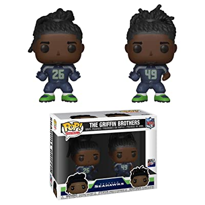 Funko POP! NFL: Griffin Brothers 2PK: Toys & Games