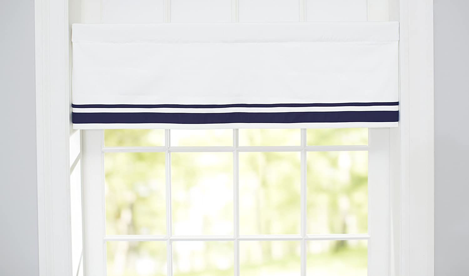 Just Born Window Valance, Navy 213900L