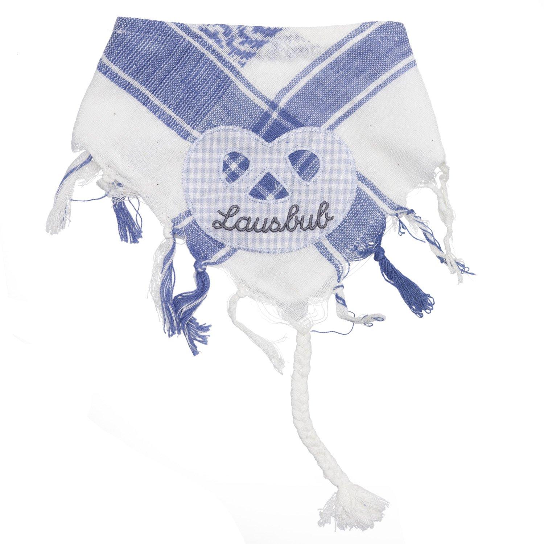 Eisenherz Baby Tuch Spuktuch mit Frottee und Klettverschluß 100% Baumwolle für Jungs mit Breze