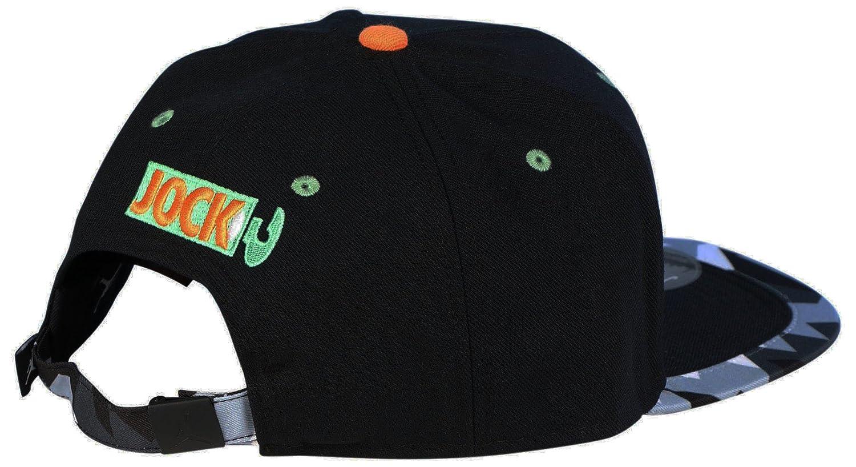 e74a17af97b Jordan Nike Men s What s Jock Strapback Hat-Black-Adjustable  Amazon.co.uk   Sports   Outdoors